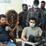 Photos : Director Shankar visits the sets of #RAP019