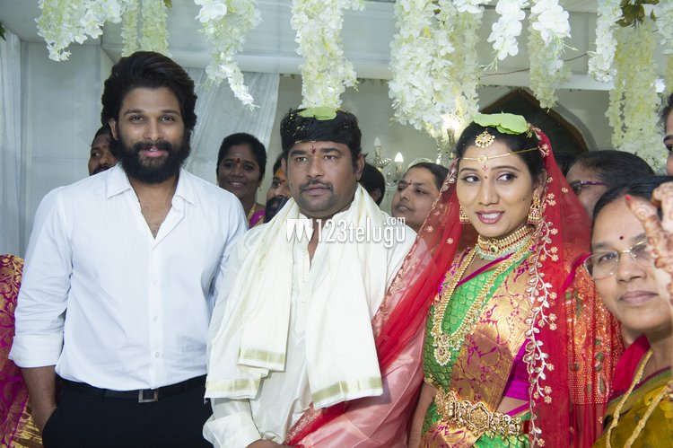 Tollywood stars at PRO Eluru Srinu's wedding