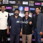 Chiranjeevi at SIIMA Awards 2020 Red Carpet