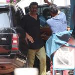 Prabhas spotted at Filmistan Studio, Mumbai