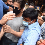 Photos :  Shah Rukh Khan meets son Aryan Khan in Mumbai jail