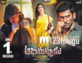 Abhimanyudu movie review