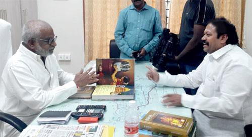 Puranapanda-Srinivas-with-YV-Subba-Reddy-TTD-chairman